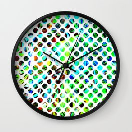 Fluid Dot Wall Clock