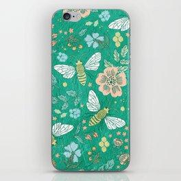 Bee Garden iPhone Skin