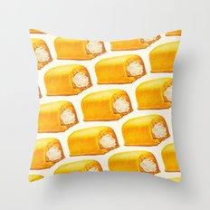 Twinkie Pattern Throw Pillow