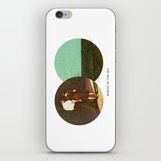 Boring by The Sea | Collage iPhone & iPod Skin