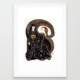 NU KUA - Chinesse Goddess of Creation Framed Art Print