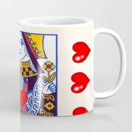 RED QUEEN OF ALL MY HEARTS Coffee Mug