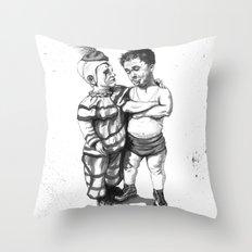 Clown Buddies Throw Pillow