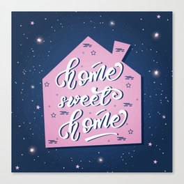 Home, sweet home Canvas Print
