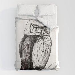 The Owl Duvet Cover