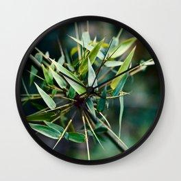 JUICY BAMBOO Wall Clock