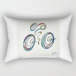 Bicycle - Zoomin' Through Rectangular Pillow