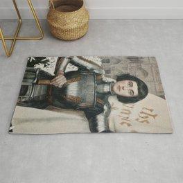 JOAN OF ARC - A.LYNCH  Rug
