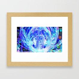 Digital Universe Framed Art Print