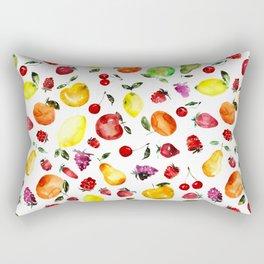 Tutti-frutti Rectangular Pillow
