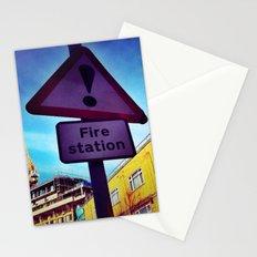 Fire Station Stationery Cards