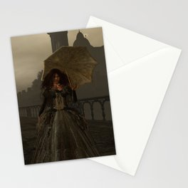 Victorian Lady Stationery Cards