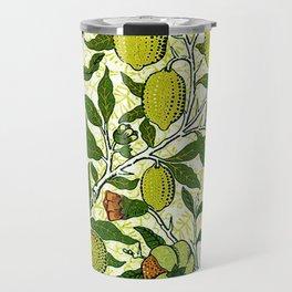 William Morris Exotic Fruit, Lemons and Pomegranates Travel Mug