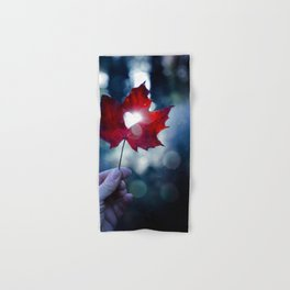 My heart lives in Nature! Hand & Bath Towel