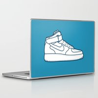 nike Laptop & iPad Skins featuring #13 Nike Airforce 1 by Brownjames Prints