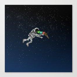 Spacetime Sadness Canvas Print