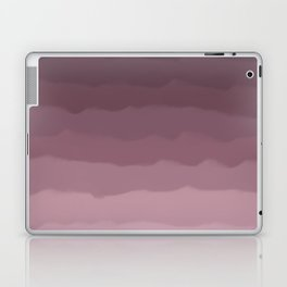 Gray Heather Fluff Gradient Laptop & iPad Skin