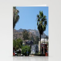 hollywood Stationery Cards featuring Hollywood by Elizabeth Tompkins