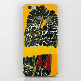 Red-tailed Black Cockatoo pair iPhone Skin