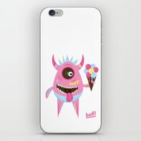 icecream iPhone & iPod Skins featuring Icecream by baffdesign