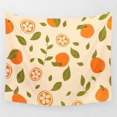 Oranges lover Wall Tapestry