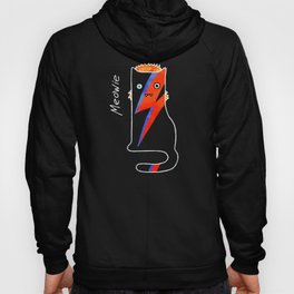 Cat Meowie likes music and life on Mars Hoody