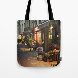 Evening in Provence Village Tote Bag