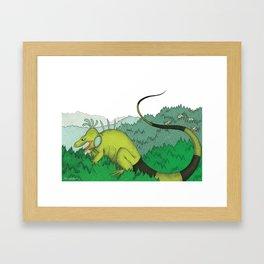 Big Mo – Forest Framed Art Print