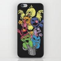 sesame street iPhone & iPod Skins featuring A Sesame Street Thriller by Anwar Rafiee