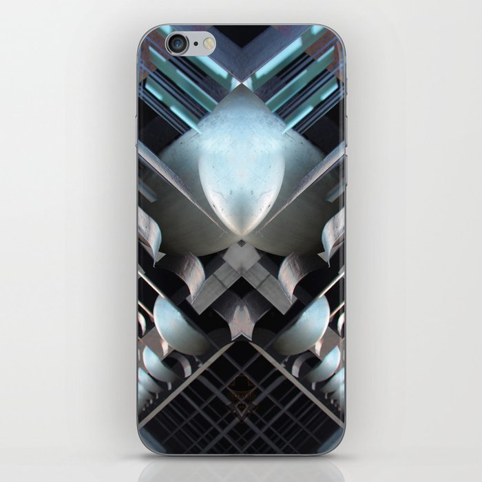 grand place brussels rorschach symmetry caleidoscope mirror 23711 iPhone Skin