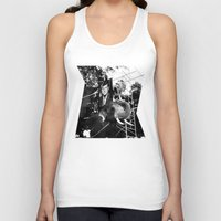 jfk Tank Tops featuring A Photograph of JFK on an Elephant by J.G.