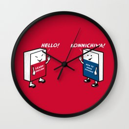 Say Hello Wall Clock