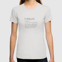 Firgun Definition T-shirt
