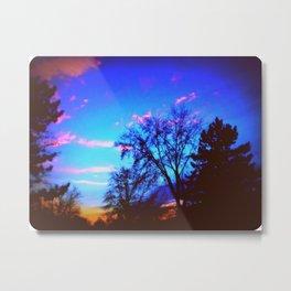 Colorful Sky (vintage) Metal Print