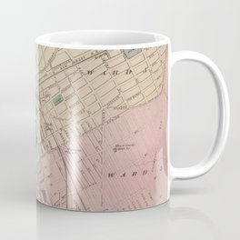 Vintage Map of Elizabeth New Jersey (1872) Coffee Mug