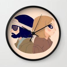 Margot and Richie Wall Clock