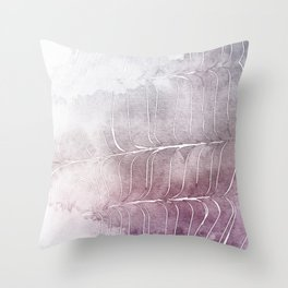 Finee Finese Mauvelous Throw Pillow