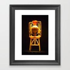 Egyptian canopic jar Framed Art Print