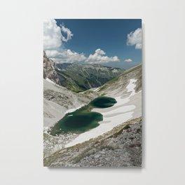 Pilato lake on the Sibillini mountains Metal Print