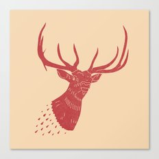 Taxidermied Elk Canvas Print