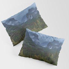 Yosemite Tunnel View Pillow Sham