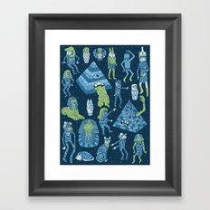 Wow! Mummies! Framed Art Print