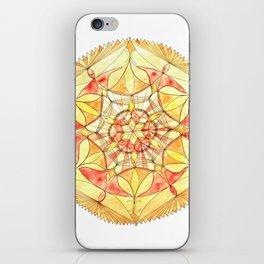 Strength Doily iPhone Skin