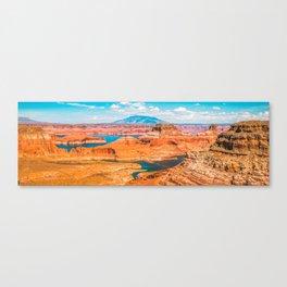 Glen Canyon Panorama Canvas Print