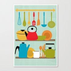 My Kitchen Canvas Print