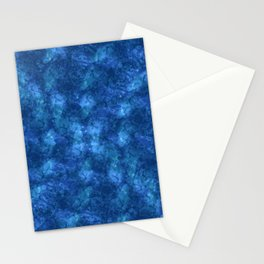 I'm Blue; Fluid Abstract 57 Stationery Cards