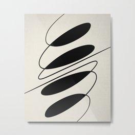 Movement #2 Art Print Metal Print