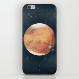 The Red Planet iPhone Skin