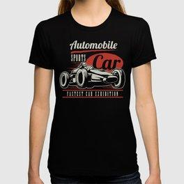 Indy car racing T-shirt