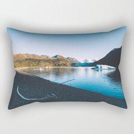 Grewingk Glacier II Rectangular Pillow